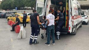 Kartalda hastane otoparkında silahlı kavga