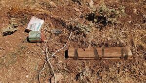 Eruhta toprağa gömülü patlayıcı imha edildi