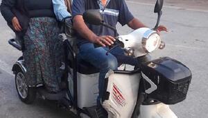 Anne ve babasını taşımak için aldığı motosikleti çalındı