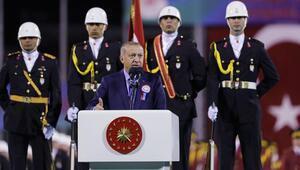 Cumhurbaşkanı Erdoğan, Subay ve Astsubay Mezuniyet Törenine katıldı