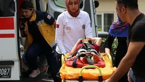Beyoğlunda 5 yaşındaki çocuk pencereden düştü; burnu çatladı