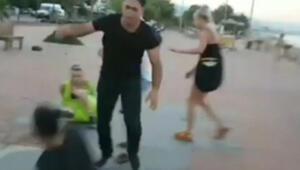 Antalyada ortalık karıştı Turistler ile birbirlerine girdiler