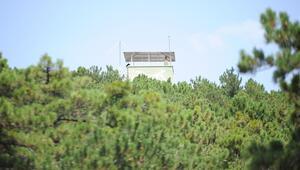 Gözetleme kulesinde 7 gün 24 saat
