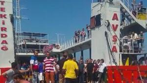 Feribot iskeleye çarptı: 7 yaralı