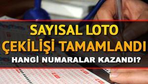 MPİ Sayısal Loto sonuç sorgulama ekranı 24 Ağustos Sayısal Loto çekilişi tamamlandı