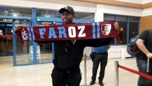 Sturridgee Trabzon'da coşkulu karşılama