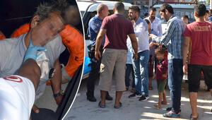 Korkunç olay 6 yaşındaki kızının taciz edildiğini balkondan gördü…