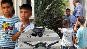 Sokakta oynayan iki kardeş buldu Faciadan dönüldü…