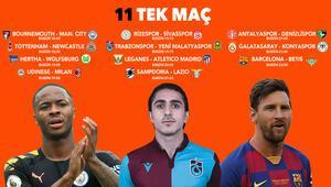 6 saat içinde 11 TEK MAÇ fırsatı Manchester City, Trabzonspor, Barcelona, iddaa oranları...
