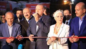 Erdoğan, Araklı ilçesindeki bir restoranın açılışını gerçekleştirdi