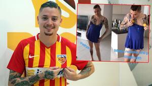 Kayserisporun yeni transferi Adryan Oliveira Tavaresin geçmişi herkesi şaşırttı