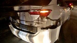 Sapancada zincirleme trafik kazası: 2 yaralı