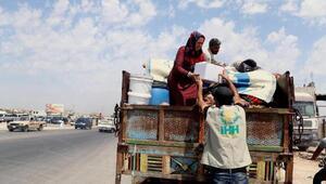 Suriye'de rejimin saldırısından kaçanların sayısı 1 milyona ulaştı