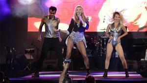 Ivana 15 bin kişiye konser verdi