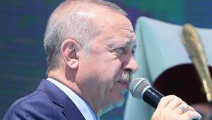 Son dakika Cumhurbaşkanı Erdoğan: Çok yakında kara birliklerimizin de bölgeye giriş yapmasını bekliyoruz