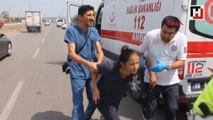 Kazada eşi ölen hemşire: Ne olur beni de öldürün