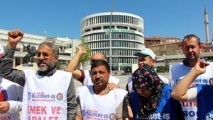 Bolu Belediyesinde işten çıkarılan işçilerin eylemi 125inci gününde