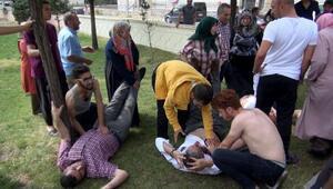 Bahşiş zarfı kavgasında damadın da aralarında bulunduğu 4 kişi bıçaklandı