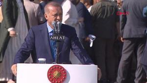 Cumhurbaşkanı Erdoğan: Ne Diclenin ne de Fıratın kuzularını çakallara kaptırmayacağız