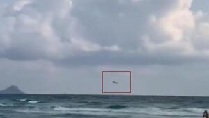 İspanyada savaş uçağı düştü