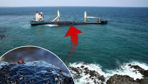 Şiledeki terk edilen gemi ile ilgili şoke eden iddia