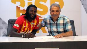 Emmanuel Adebayor Kayserisporda