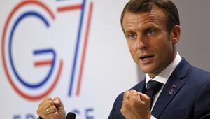 Macron: Rusyanın G7ye dahil edilmesine yönelik fikir birliği oluşmadı