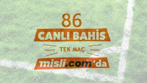 İlk hafta iddaada 86 TEK MAÇ ve CANLI BAHİS Misli.comda