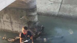 Kanala düştü, boğuldu