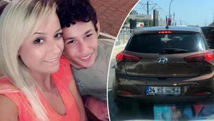 Otizmli oğlu ile birlikte trafikte büyük şok yaşamışlardı Polis rozeti göstermedik