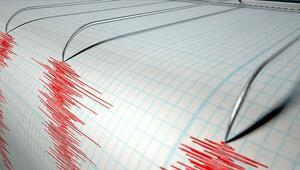 Kütahyada 3.1 büyüklüğünde deprem
