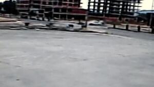 Antrenman yolunda Enesin öldüğü, annesinin yaralandığı kaza kamerada