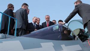 Son dakika... Cumhurbaşkanı Erdoğan Rusyada