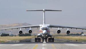 Son dakika... S-400de ikinci sevkiyat başladı... Parçaları taşıyan uçak Ankarada