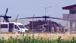 Sınırın sıfır noktasında hareketlilik Helikopterler konuşlandı…