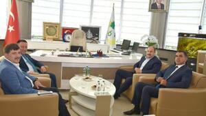 Gülpınardan Başkan Beyoğluna ziyaret