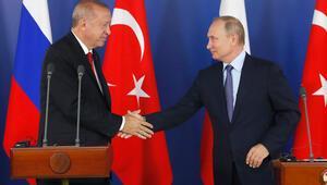 Cumhurbaşkanı Erdoğan ile Putinden önemli açıklamalar