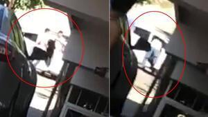 Kuzenlerin silahlı kavgası kamerada