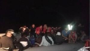 Didim ve Kuşadasında 101 kaçak göçmen yakalandı