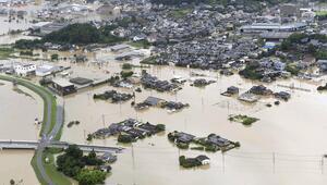 Japonyada yağışlar nedeniyle yaklaşık 847 bin kişiye tahliye talimatı
