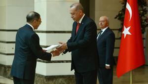Cumhurbaşkanı Erdoğan, Kolombiya Büyükelçisini kabul etti