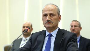 Bakan Turhan, KKTC Bayındırlık ve Ulaştırma Bakanı Atakan ile görüştü