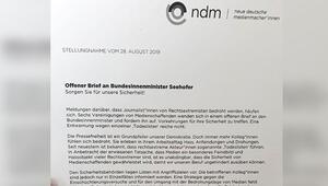 'Ölüm listesi'ndeki gazeteciler: Almanya can güvenliğimizi sağlasın