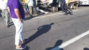 Adanada zincirleme kaza: 1 ölü, 2 yaralı