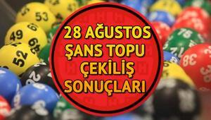 MPİ Şans Topu sorgulama ekranı 28 Ağustos Şans Topu çekiliş sonuçları açıklandı