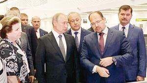Türkler inşa etti, Putin açılışı yaptı