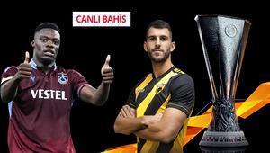 Türk takımlarına CANLI BAHİS başlıyor Trabzonsporun iddaa oranı...