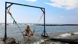 Doğal havuzlara yoğun ilgi Sessiz cennet olarak biliniyorlar...