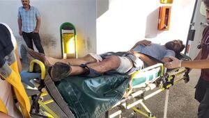 20 liralık borç kavgası Bir kişi ağır yaralandı