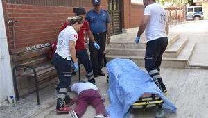 Madde bağımlısı cami bahçesinde sızdı, imam ve polis uyandıramadı